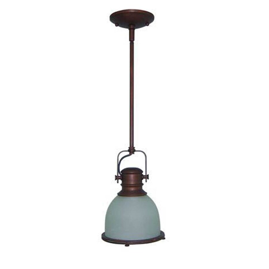 Shop litex 725 in w antique bronze pendant light with frosted shade litex 725 in w antique bronze pendant light with frosted shade aloadofball Choice Image