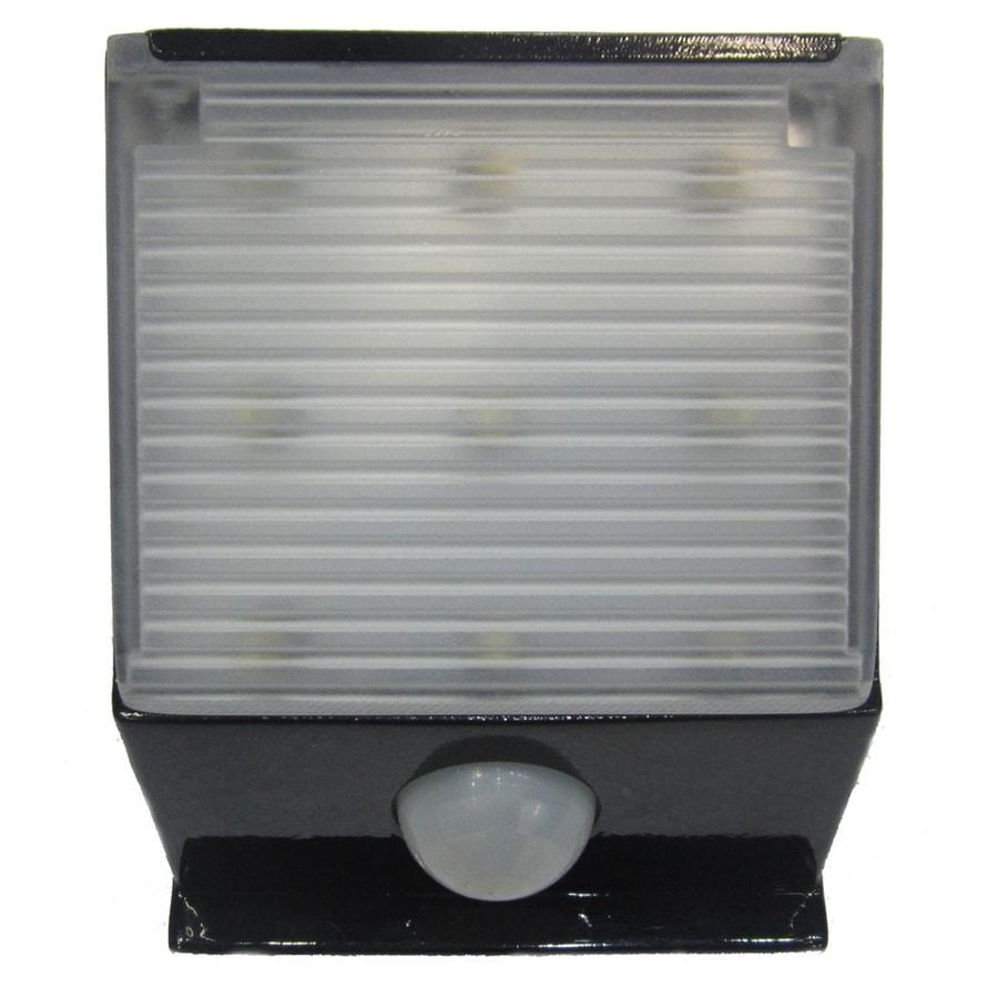 Portfolio Standard 0.5-Watt Line Voltage Solar LED Step Light with Motion Sensor  sc 1 st  Loweu0027s & Shop Portfolio Standard 0.5-Watt Line Voltage Solar LED Step Light ...