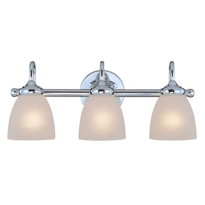 Craftmade Spencer 3 Light Chrome Traditional Vanity Light In The Vanity Lights Department At Lowes Com