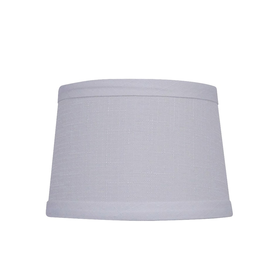 allen + roth 4.5-in x 5.75-in White Fabric Chandelier Lamp Shade