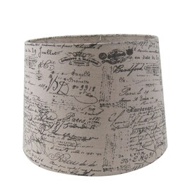 Shop lamp shades at lowes allen roth 11 in x 13 in tan fabric drum lamp shade aloadofball Gallery