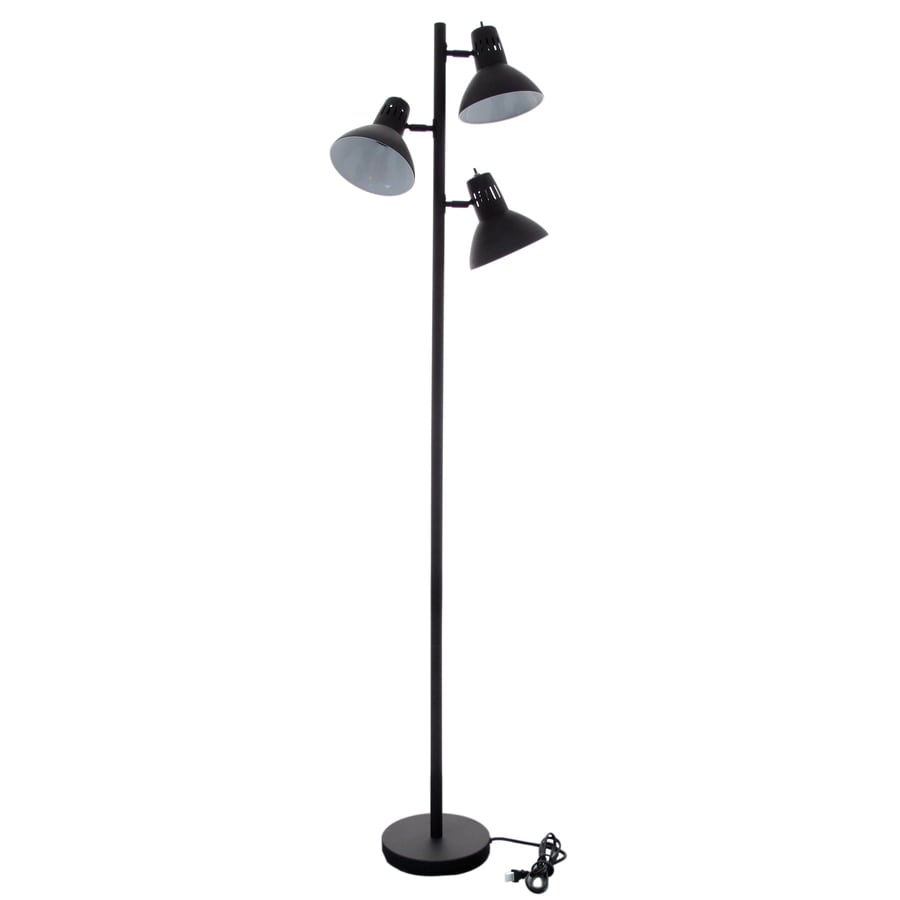 allen + roth Embleton 68-in Bronze Multi-Head Floor Lamp with Metal Shade