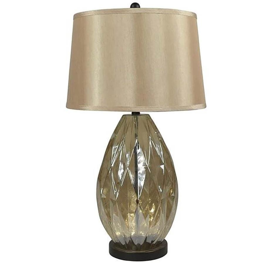 Lowes Table Lamps: Shop Allen + Roth Hartmere 30-in 3-Way Bronze Indoor Table