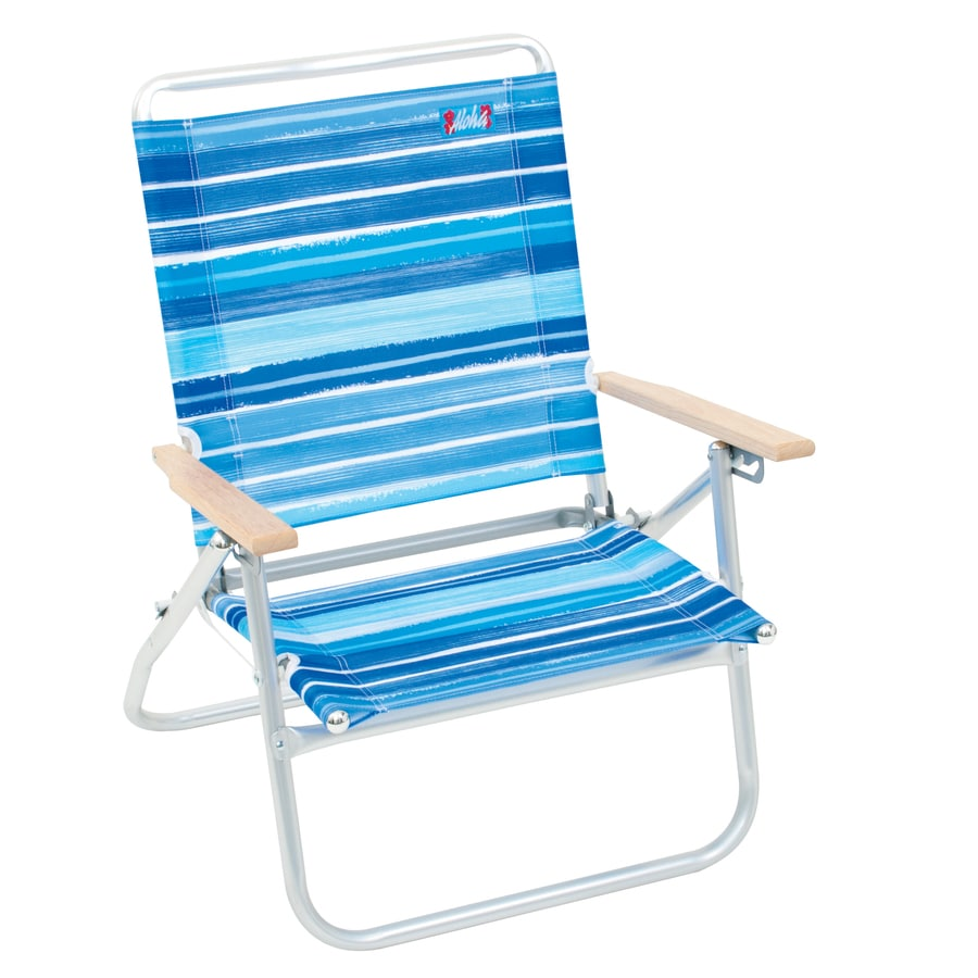 Aluminum folding chair - Rio Brands Aluminum Folding Beach Chair