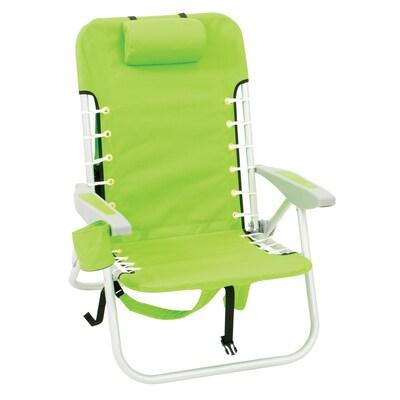 Fantastic Rio Brands Aluminum Folding Beach Chair At Lowes Com Interior Design Ideas Pimpapslepicentreinfo