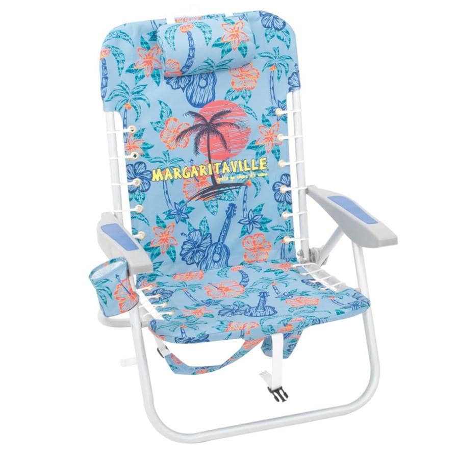 Margaritaville Folding Beach Chair At Lowes Com