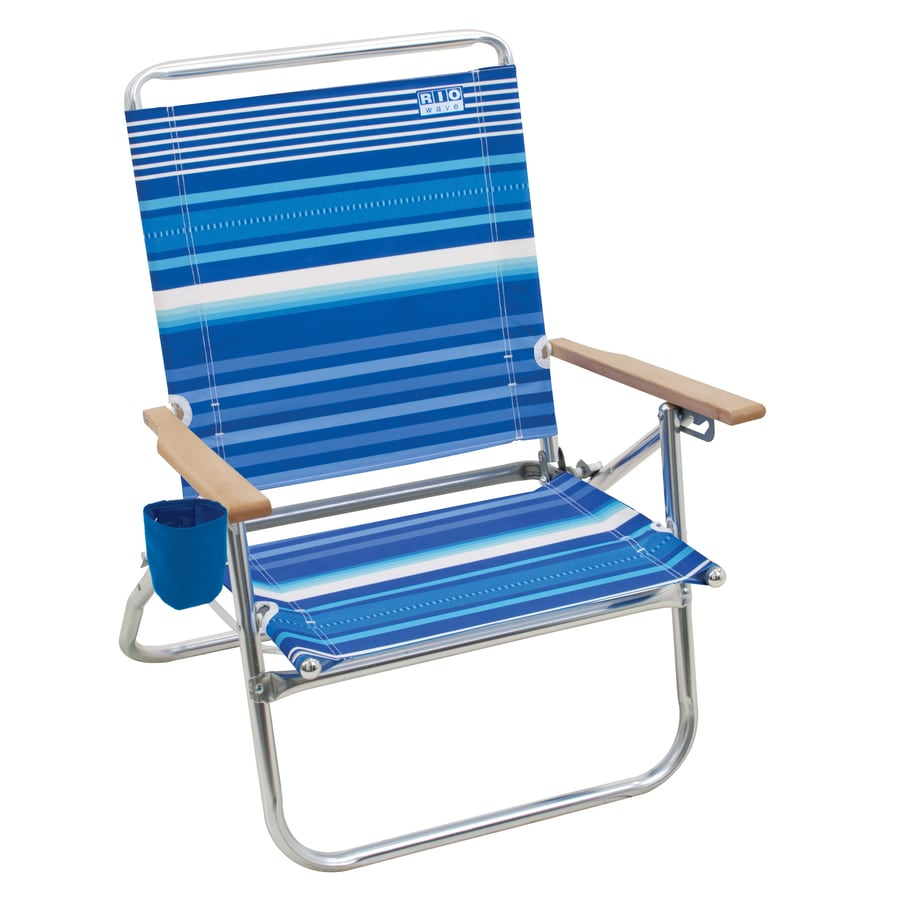 RIO Brands Multiple Folding Beach Chair At Lowes.com