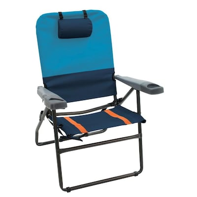 Groovy Rio Brands Folding Beach Chair At Lowes Com Machost Co Dining Chair Design Ideas Machostcouk
