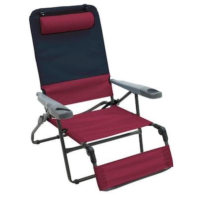 Astounding Rio Brands Folding Beach Chair At Lowes Com Machost Co Dining Chair Design Ideas Machostcouk