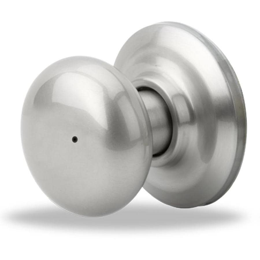 Yale Security YH Cambridge Satin Nickel Privacy Door Knob Single Pack