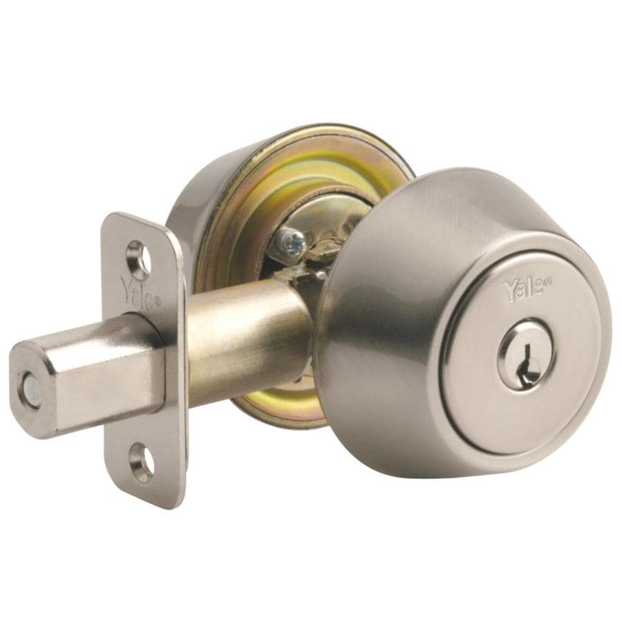 Yale Security Select Yh Satin Nickel Double-Cylinder Deadbolt