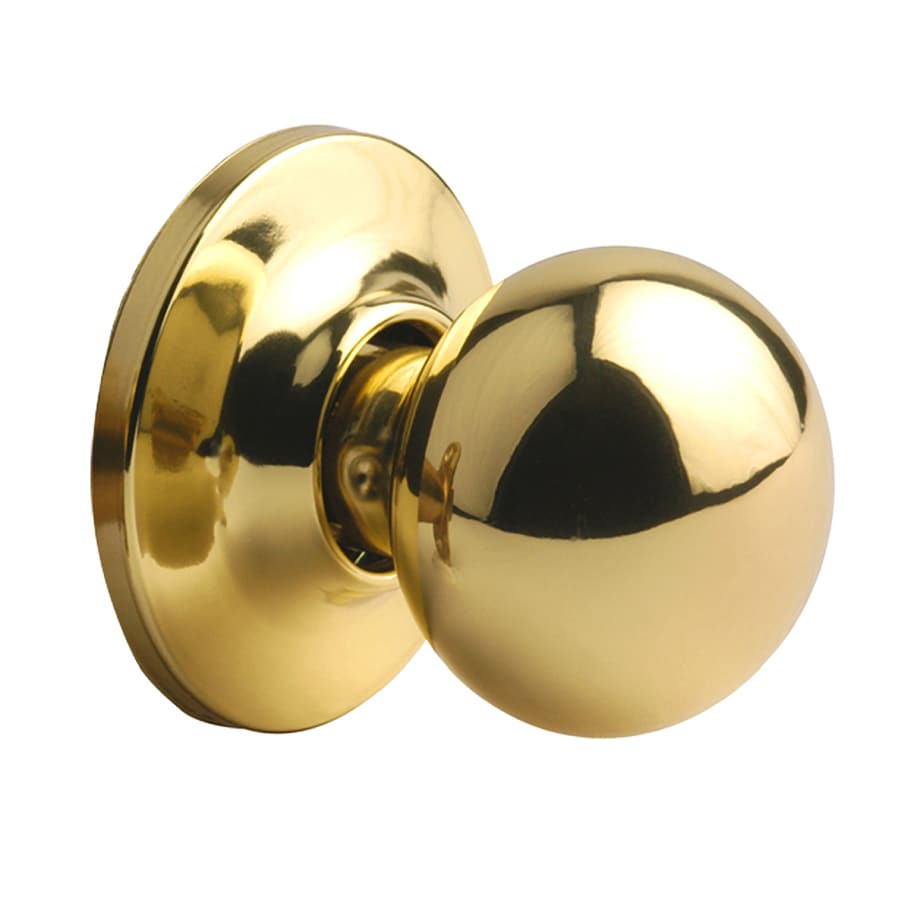 Yale Security New Traditions Cirrus Polished Brass Dummy Door Knob