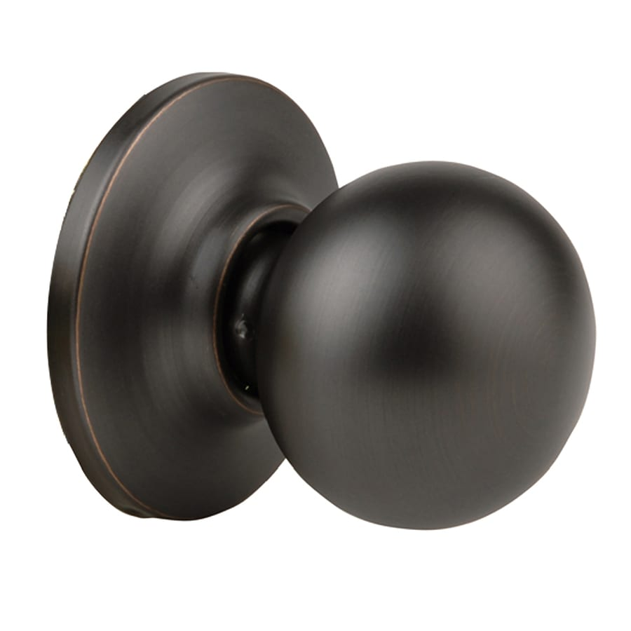 Yale Security New Traditions Cirrus Oil-Rubbed Bronze Permanent Dummy Door Knob