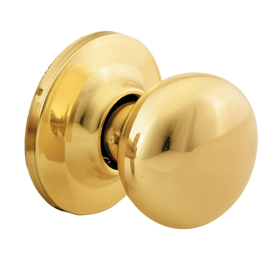 Yale Security New Traditions Horizon Polished Brass Dummy Door Knob