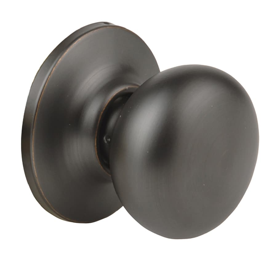 Yale Security New Traditions Horizon Oil-Rubbed Bronze Permanent Dummy Door Knob