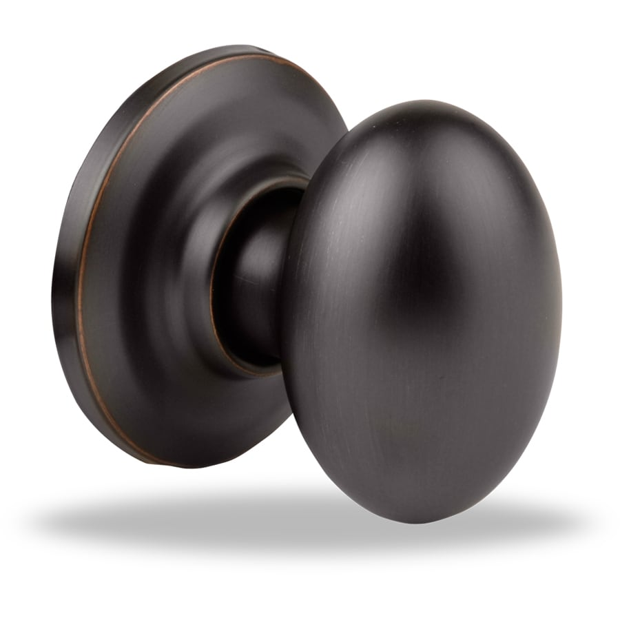 Yale Security New Traditions Terra Oil-Rubbed Bronze Permanent Dummy Door Knob