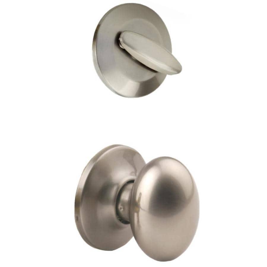 Yale Security Terra 1-3/4-in Satin Nickel Single Cylinder Knob Entry Door Interior Handle