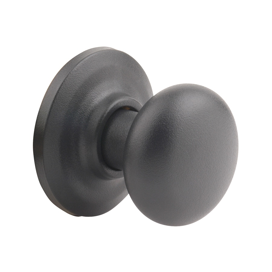 Yale Security YH Cambridge Textured Black Round Passage Door Knob