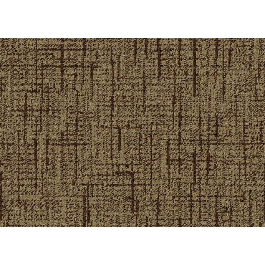 Lexmark Carpet Mills Essentials Stature 12-ft W Hot Fudge Pattern Interior Carpet