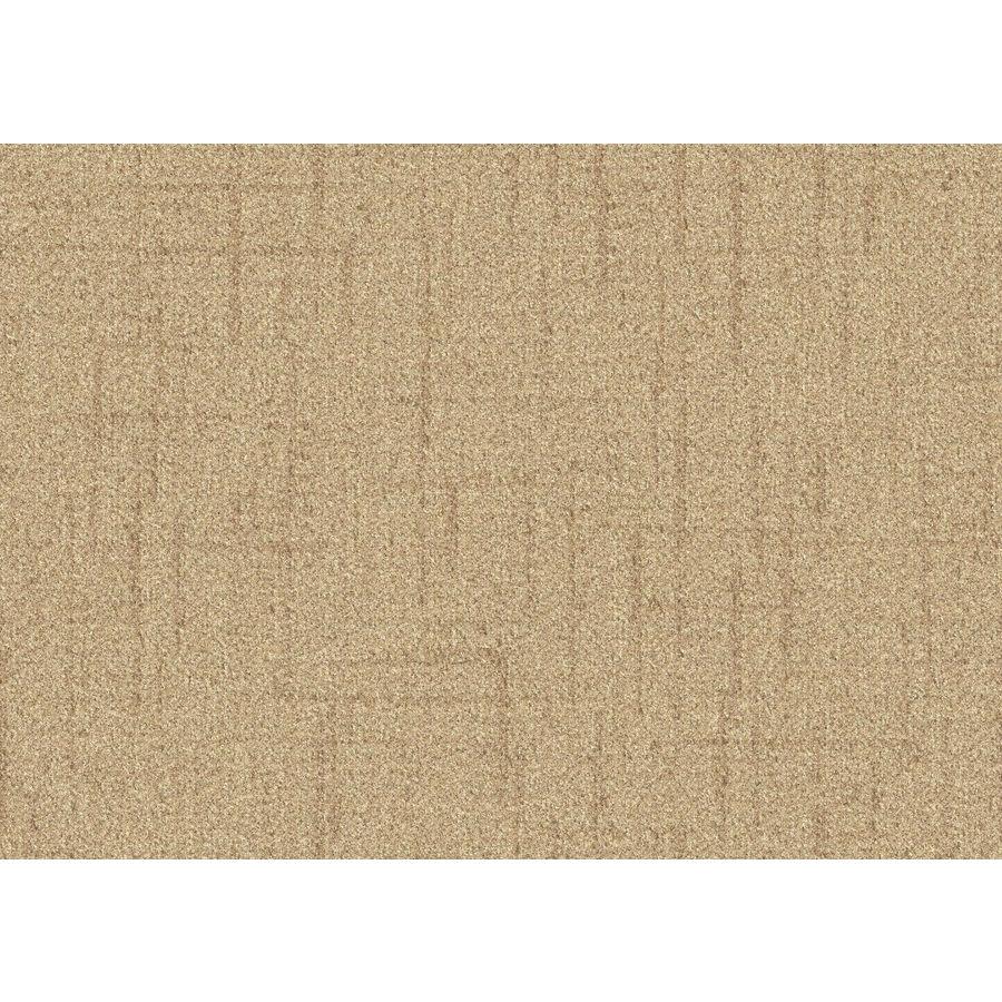 Lexmark Carpet Mills Essentials Stature 12-ft W x Cut-to-Length Sugar Cookie Pattern Interior Carpet