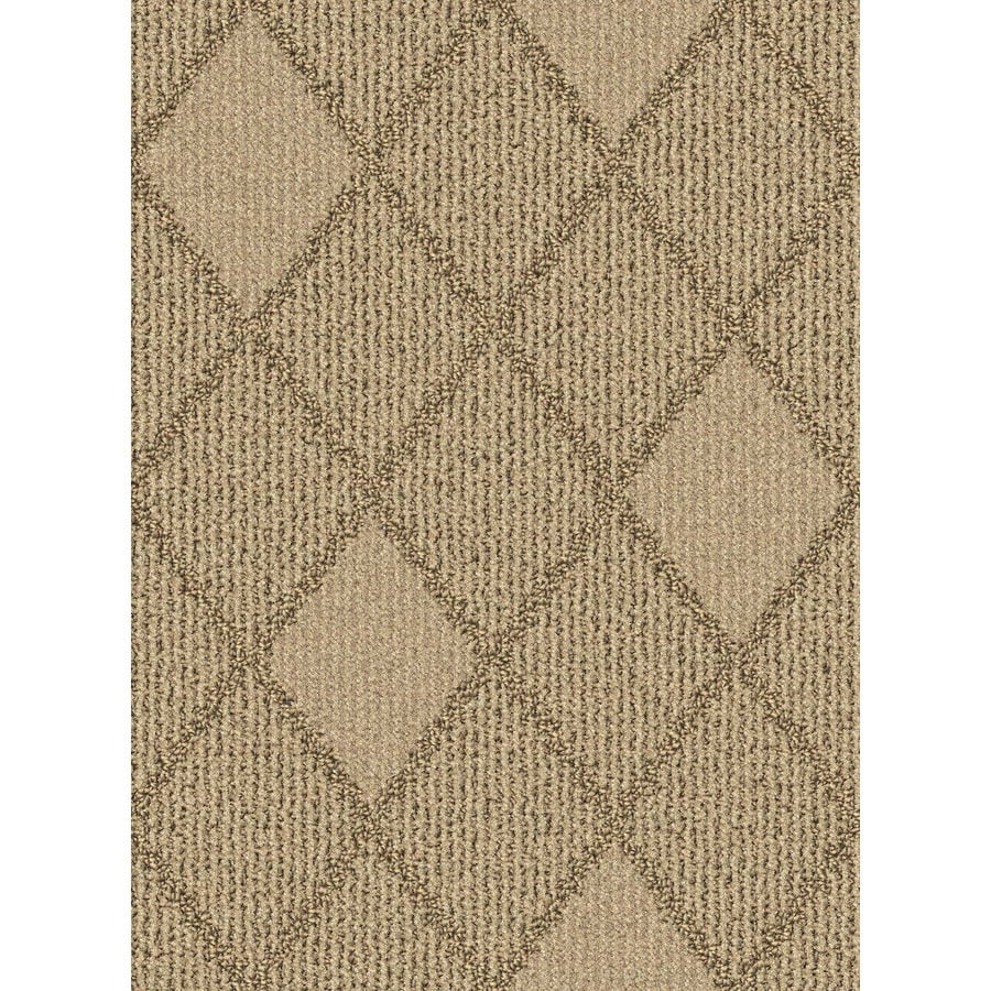 Lexmark Carpet Mills Essentials Insignia Sugar Cookie Pattern Indoor Carpet