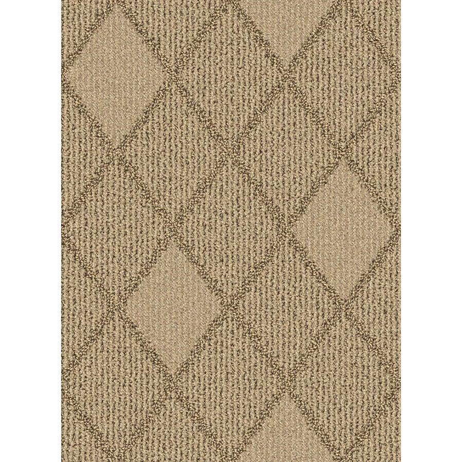 Lexmark Carpet Mills Essentials Insignia 12-ft W x Cut-to-Length Sugar Cookie Pattern Interior Carpet