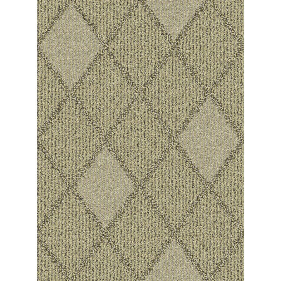 Lexmark Carpet Mills Essentials Insignia 12-ft W x Cut-to-Length Oats Pattern Interior Carpet