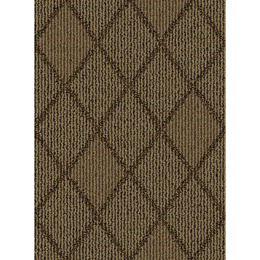 Lexmark Carpet Mills Essentials Insignia Hot Fudge Pattern Indoor Carpet