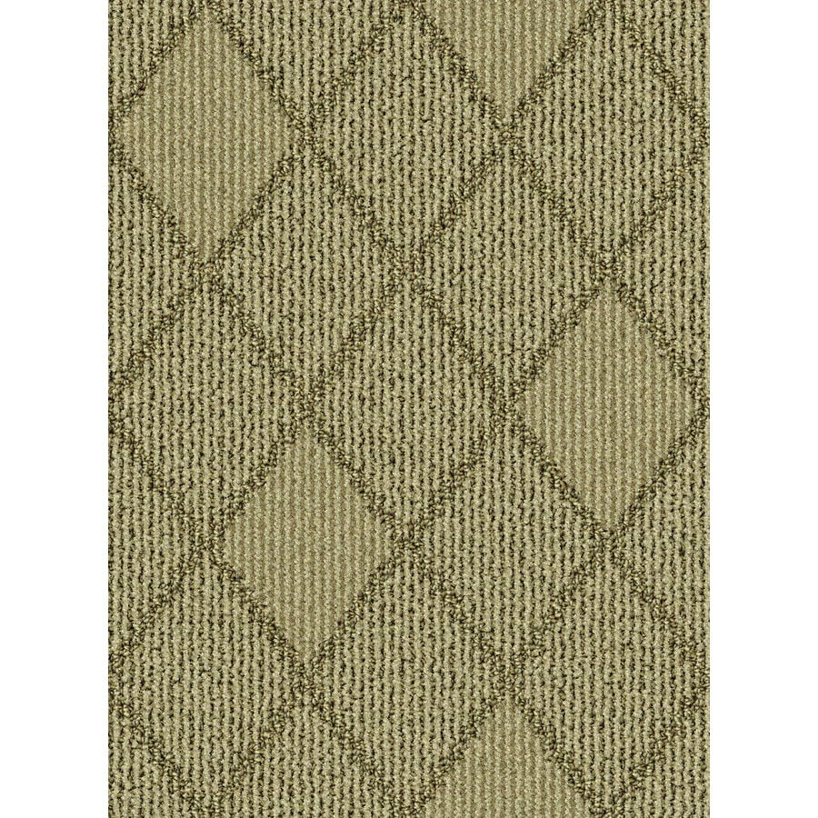 Lexmark Carpet Mills Essentials Insignia 12-ft W x Cut-to-Length Sandstone Pattern Interior Carpet