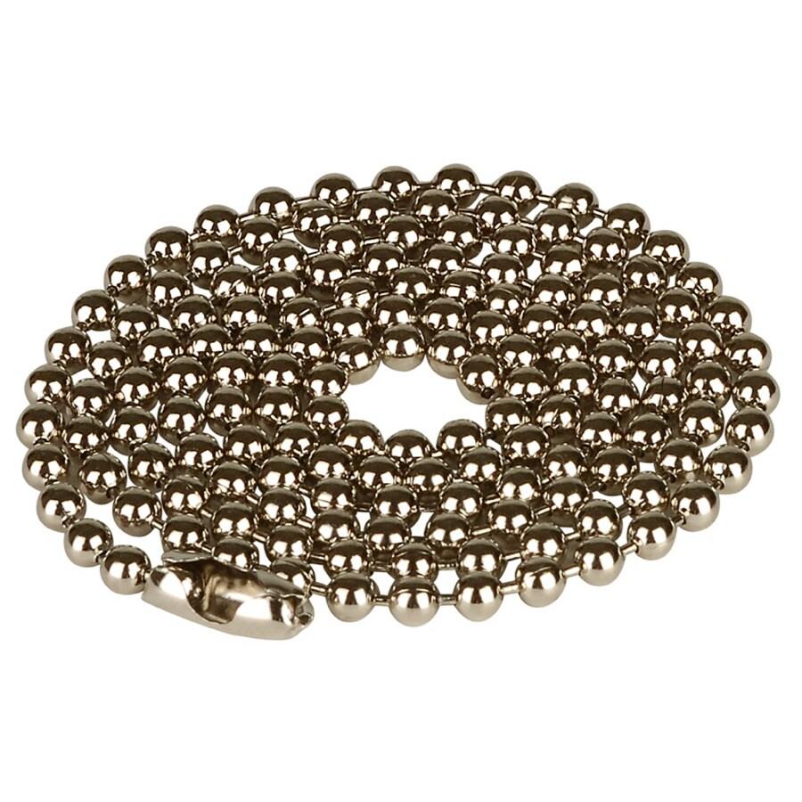 Portfolio 36-in Chrome Metal Pull Chain