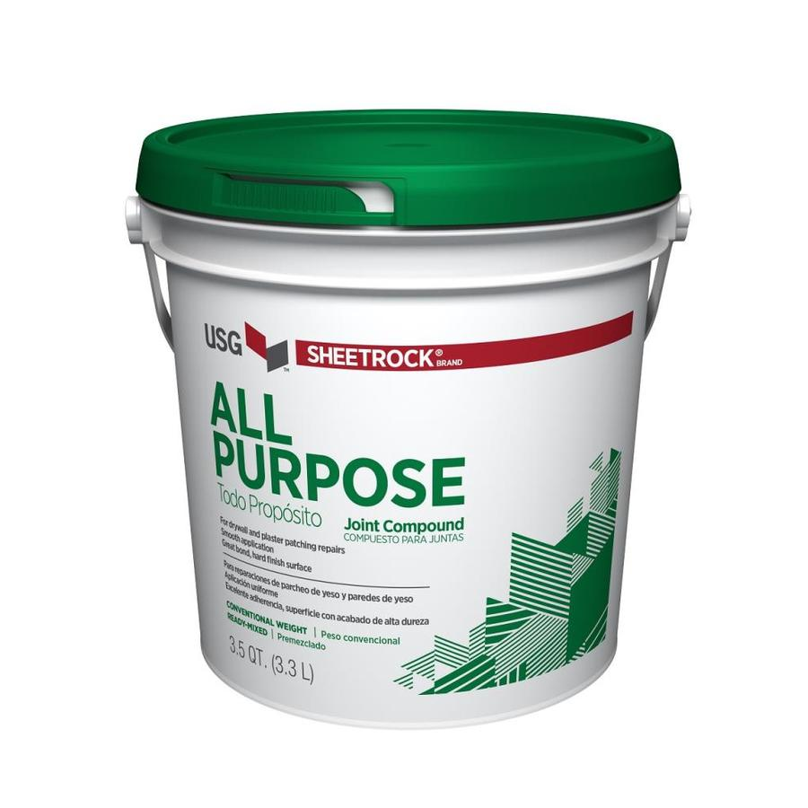 Shop sheetrock brand 3 5 quart s premixed all purpose for Bathroom joint compound