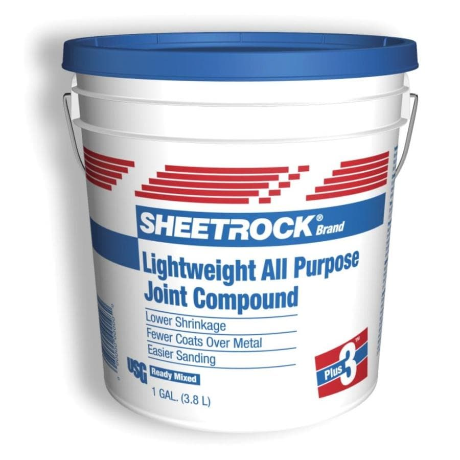Shop sheetrock brand plus 3 1 gallon premixed lightweight for Bathroom joint compound