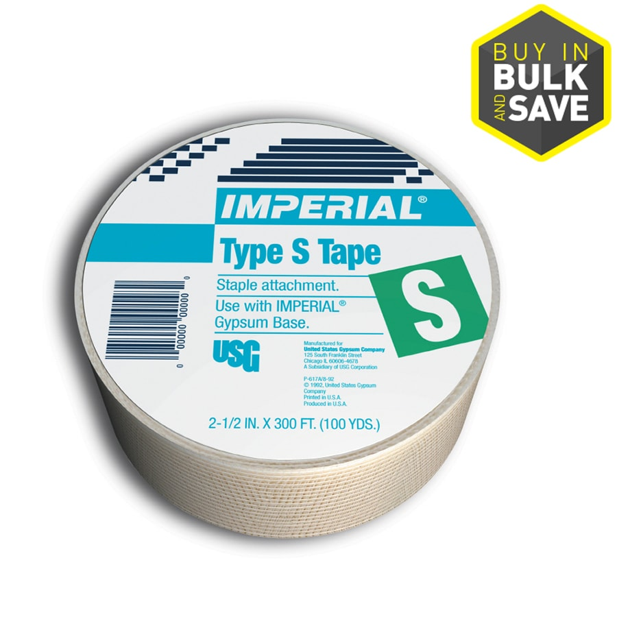 IMPERIAL Brand 2.5-in x 300-ft Solid Joint Tape