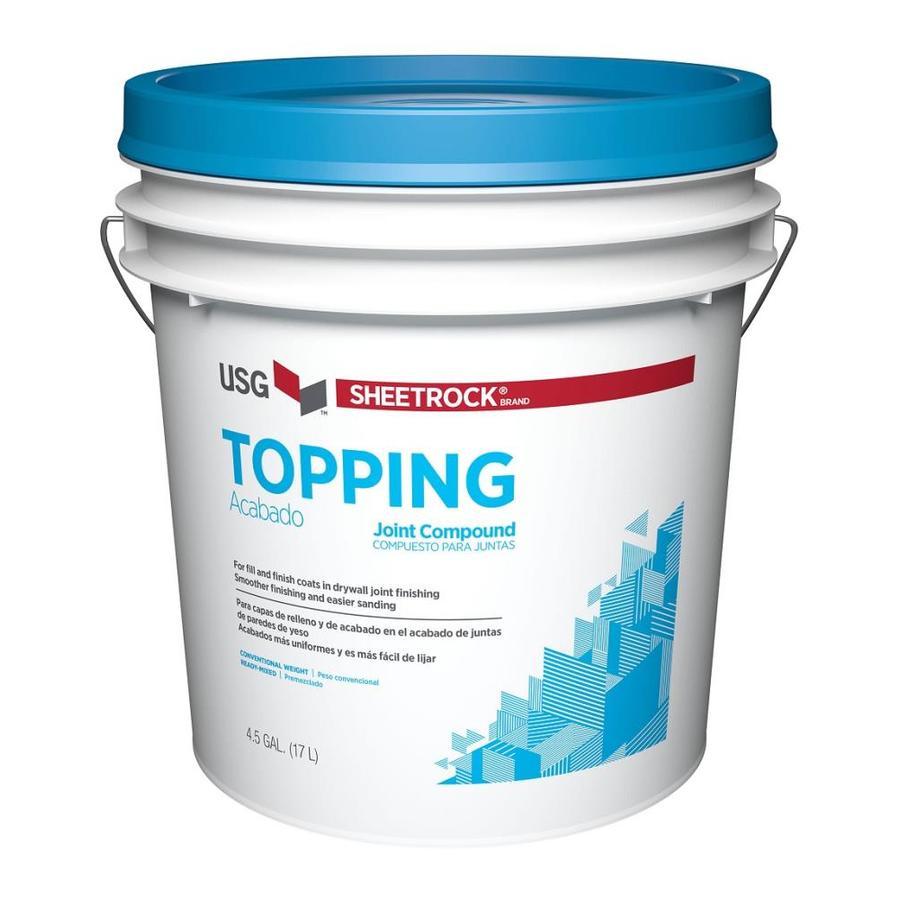 SHEETROCK Brand 4.5-Gallon Premixed Finishing Drywall Joint Compound