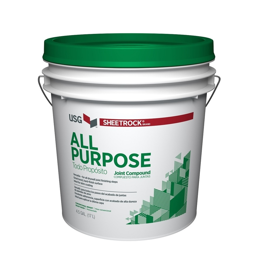 Sheetrock Brand 4 5 Gallon Premixed All Purpose Drywall Joint Compound