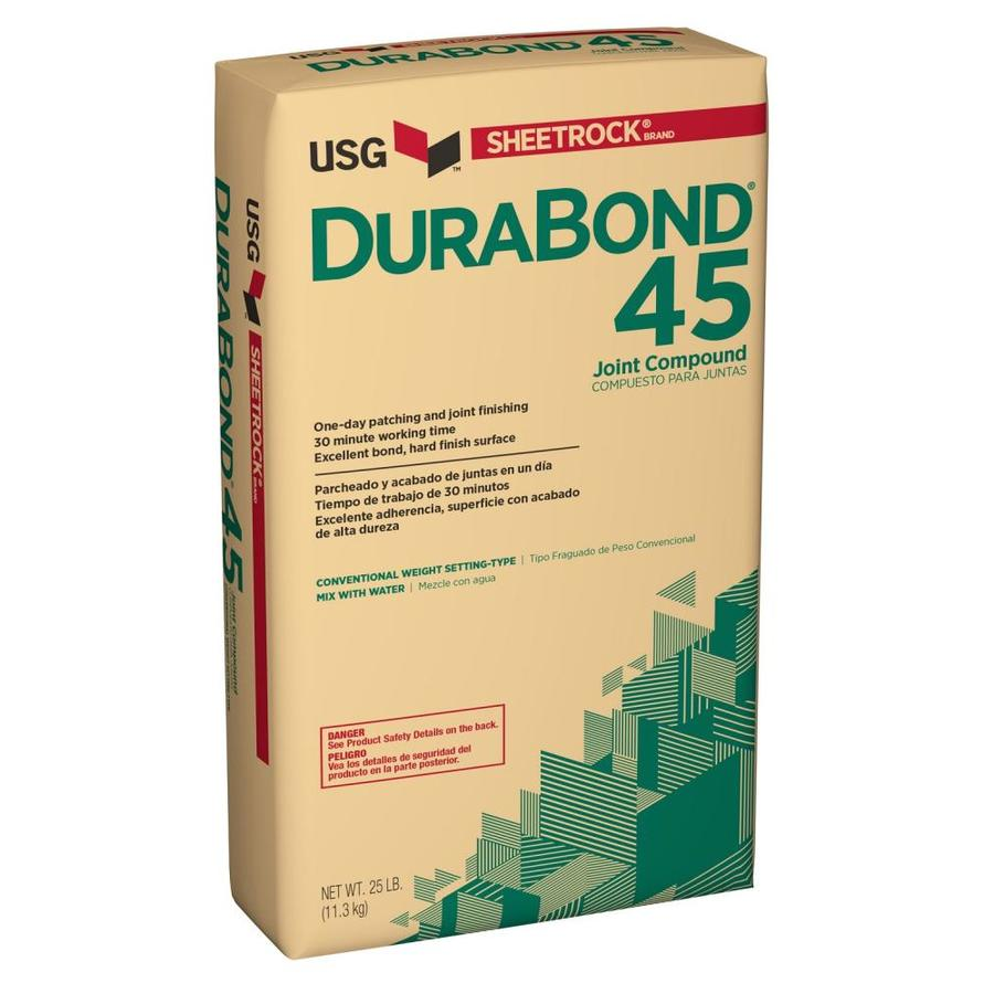 Shop sheetrock brand durabond 25 lb all purpose drywall for Bathroom joint compound