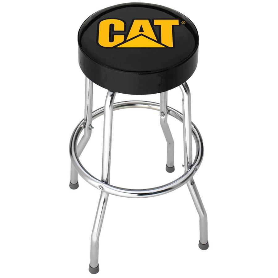 Plasticolor Cat Black And Yellow Bar Stool At Lowes Com