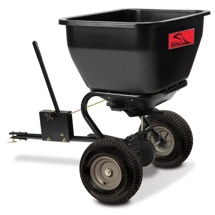 Brinly 175-lb Capacity Tow-Behind Lawn Spreader