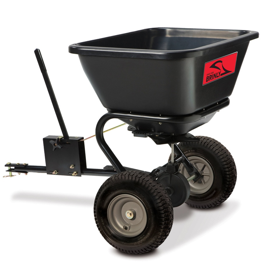 Brinly 125-lb Capacity Tow-Behind Lawn Spreader