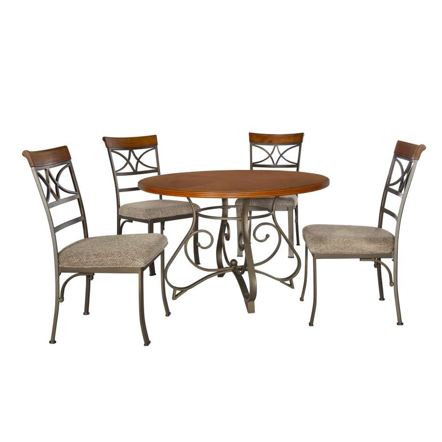 Powell Hamilton Cherry Round Dining Table