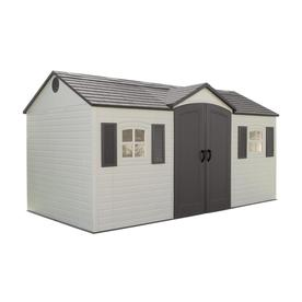 Lifetime Products Gable Storage Shed Common 15 Ft X 8