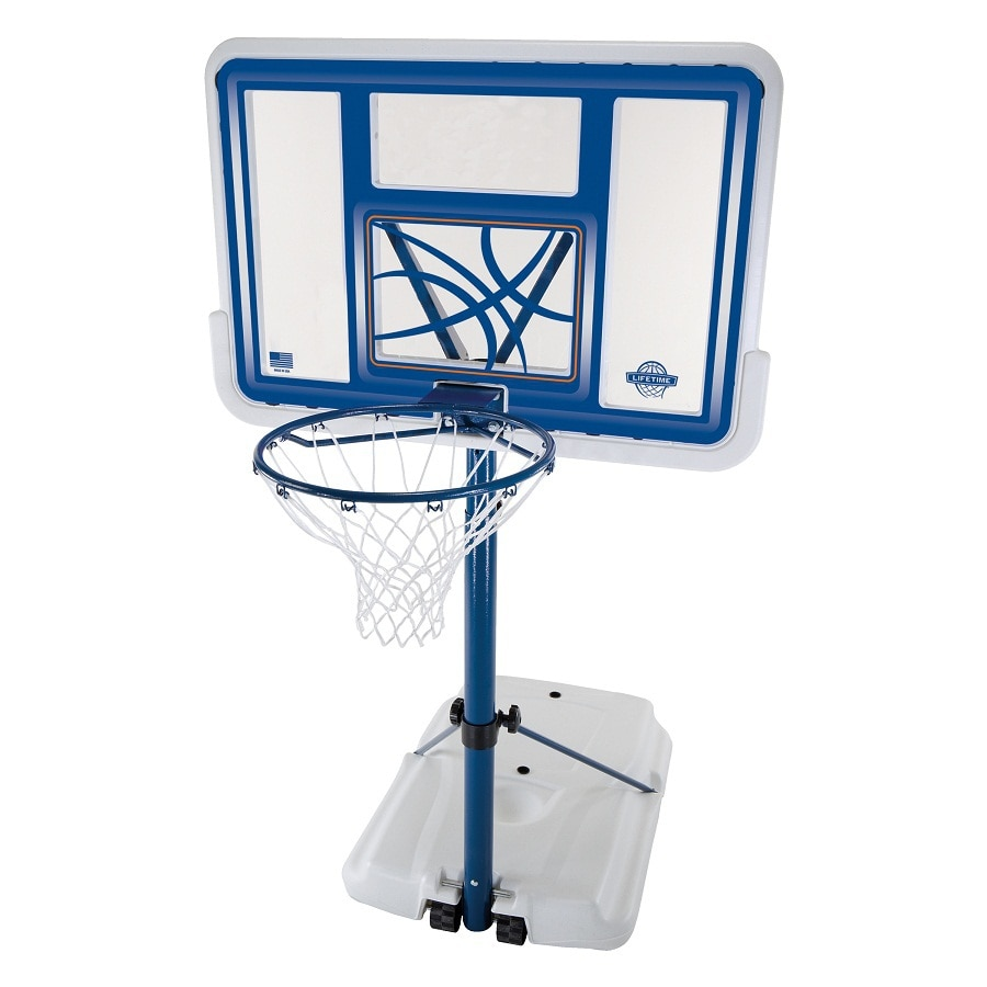 Shop Lifetime Products Outdoor Portable 44 In Backboard Basketball System At
