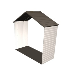 lifetime products 8ft x 212ft resin storage shed