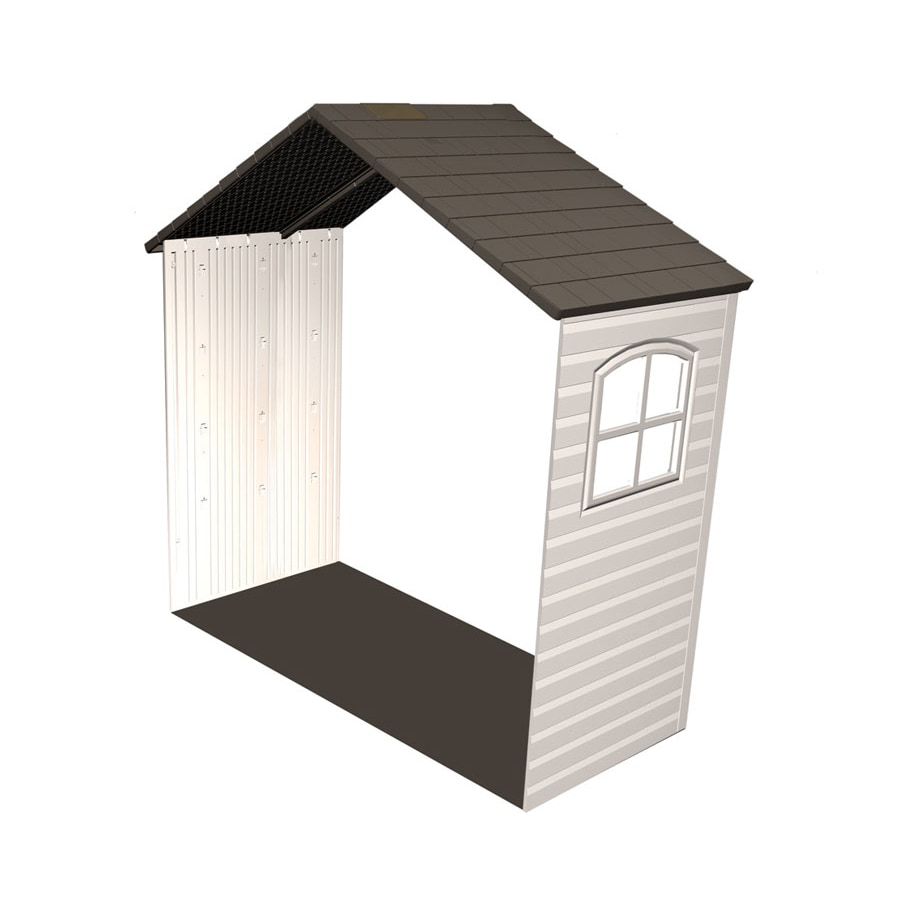 LIFETIME PRODUCTS 8 Ft X 2 1/2 Ft Resin Storage Shed