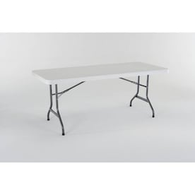 Enjoyable Lifetime Products Folding Tables At Lowes Com Interior Design Ideas Philsoteloinfo