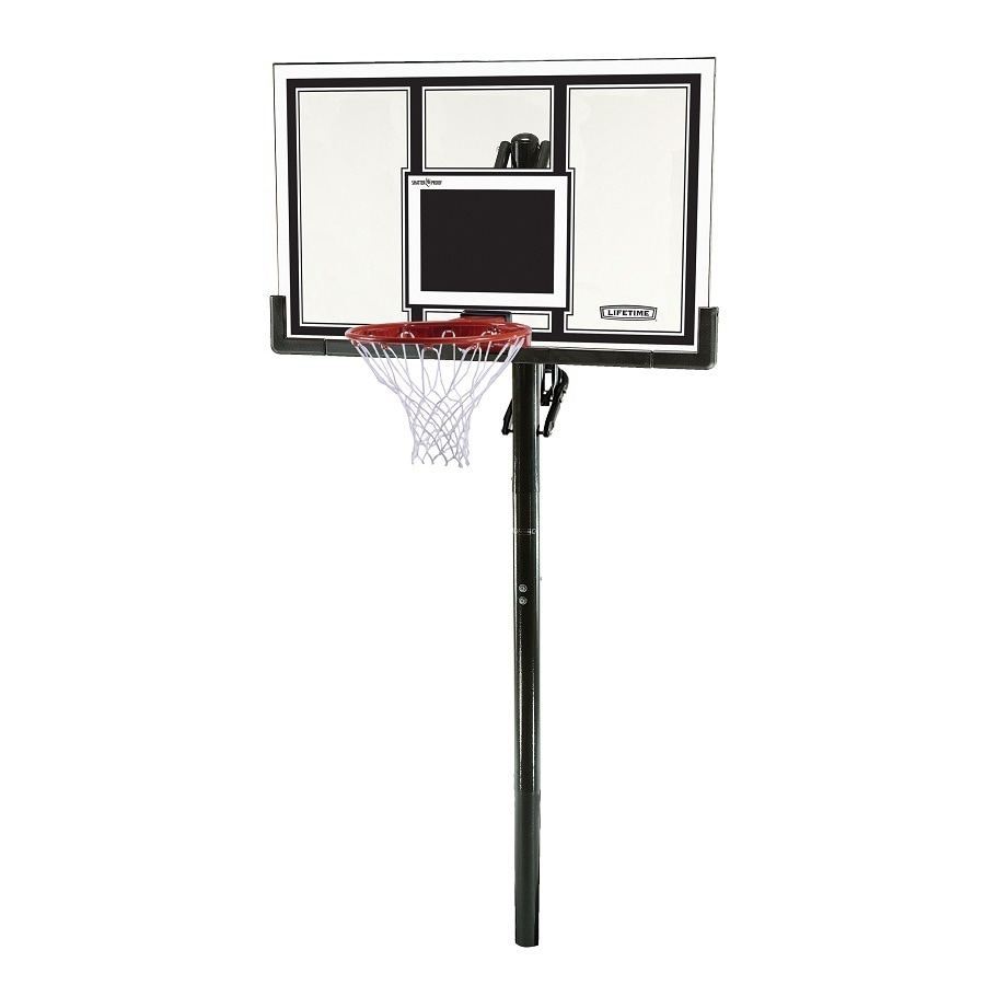 Lifetime S Outdoor In Ground 54 Backboard Basketball System