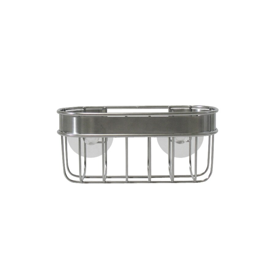 interDesign Metal Suction Sink Caddy