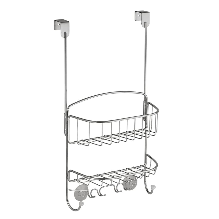Shop Interdesign 12 In H Over The Door Steel Hanging Shower Caddy At