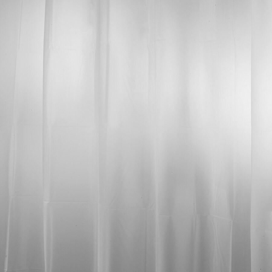 interDesign EVA/PEVA Frost Solid Shower Liner
