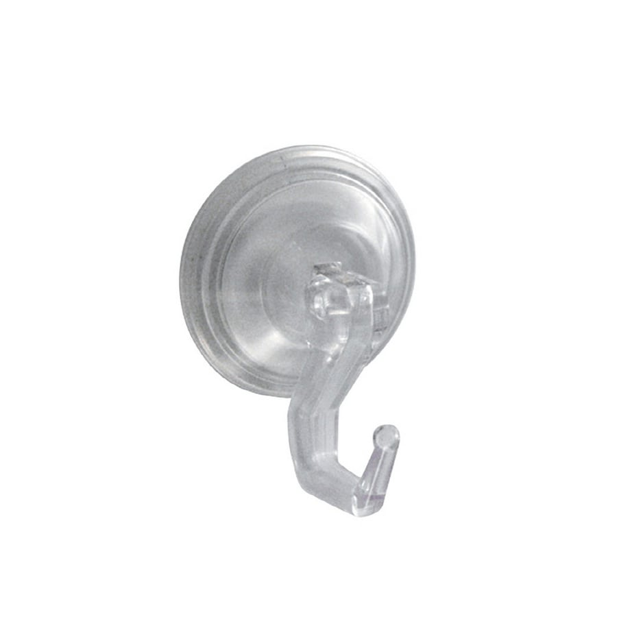 interDesign Clear Suction Cup Hook